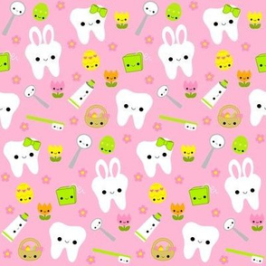 Happy Easter Teeth - Pink