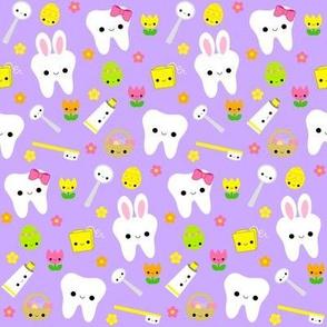 Happy Easter Teeth - Lavender