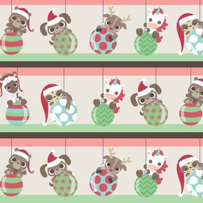 Christmas Ornaments and Animals