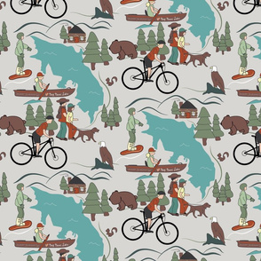 Big Bear Where I Love and Live lg print