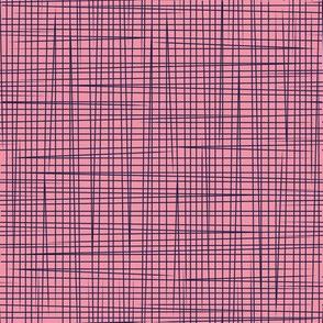 Pink Blue Lines - Rosella Garden