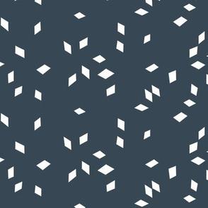 Cube Confetti - slate gray