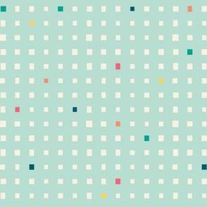 Cube Illusion - Aqua