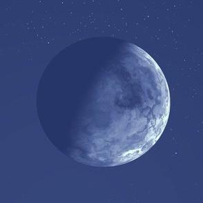 Blue Alien Moon © Gingezel™ 2012