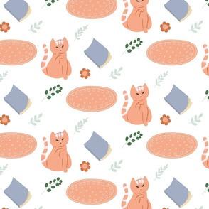 Cat Hygge Pattern