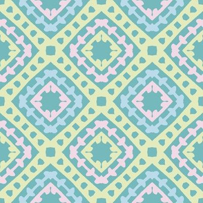 abstract pastel geometrical