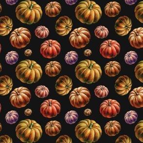 3d Orange Pumpkins