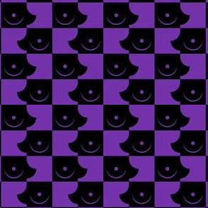 Streapchess_04 | Black and Purple