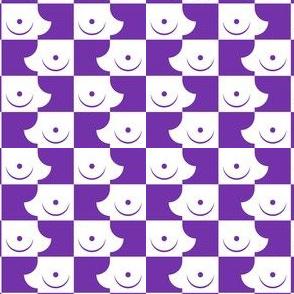 Streapchess_05 | Purple and White