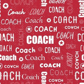 Coach - Red is Red