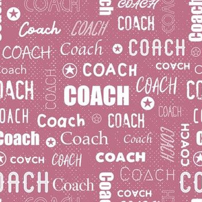 Coach - Dusty Pink