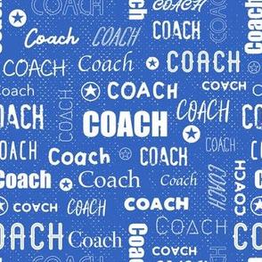 Coach - Blue