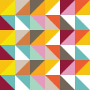 Triangles vivid