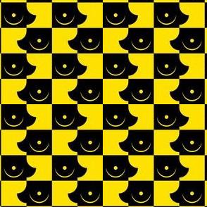 Streapchess_12 | Black and Yellow