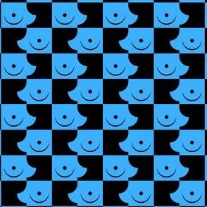 Streapchess_13 | Black and Light Blue