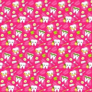 SMALL Happy Hawaii Teeth - Pink
