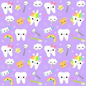 Happy Unicorn Teeth - Lavender