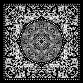 Bandana Square Ornament
