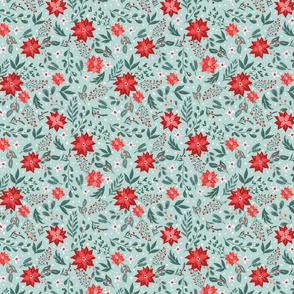 christmas florals patterns-01