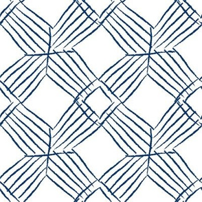 blue crosshatch