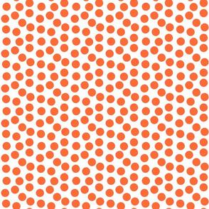 Geometry in Nature-  Orange Dots