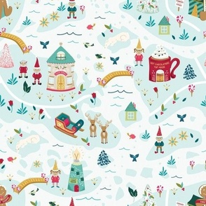 Santas North Pole Christmas Village