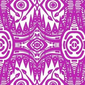 Street Fair Textile Abstract CW2