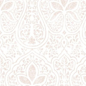 Rajkumari ~  Aurore on White ~  Batik