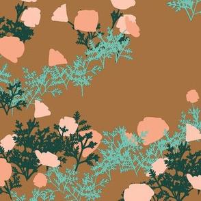 fey poppies bronze