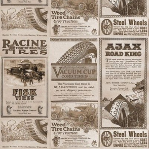 1920s Tire Advertisements