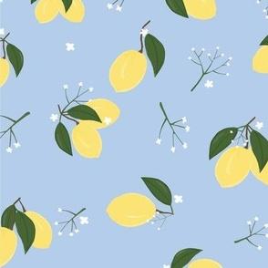 Lemons Zest Pale Blue