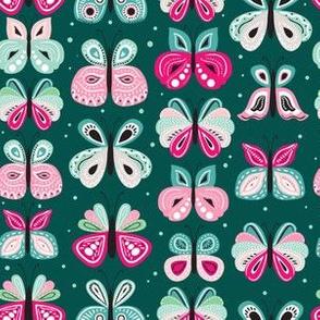 Butterflies patterns by Anna Talavrinova-12