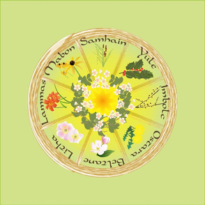 Floral Wheel of the Year