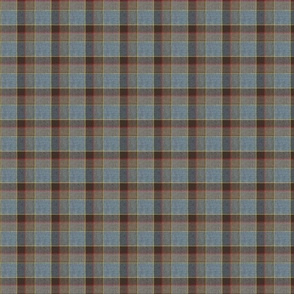 Fraser Weathered Wool Scottish Tartan