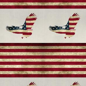 Americana Eagles and Stripes