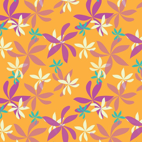 Floral Pinwheel multi colored