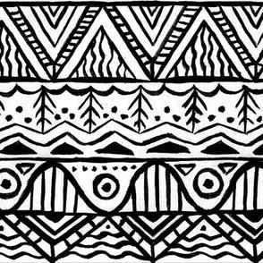 Scandinavian black and white