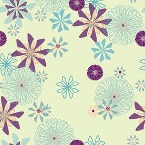 blooming spiro floral