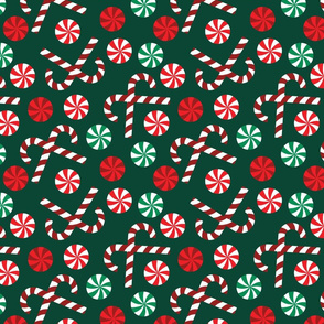 Christmas Candy - Green