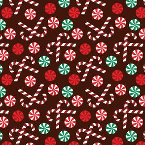 Christmas Candy - Brown