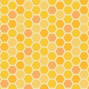 Honeycomb warm tones