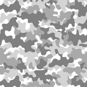 Camo Army Gray White