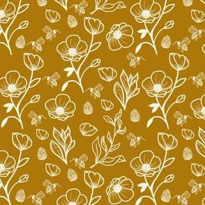honey bees + anemones // 15-16