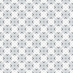 Gray watercolor kaleidoscope