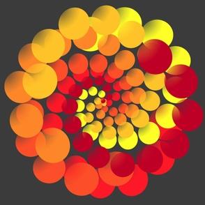 Bubble Ballet_yellow_orange_red