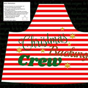Cut & Sew Christmas Apron