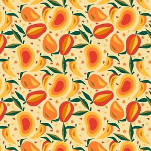 Mango Extravaganza- Papercut Tropical Medley- Small Scale