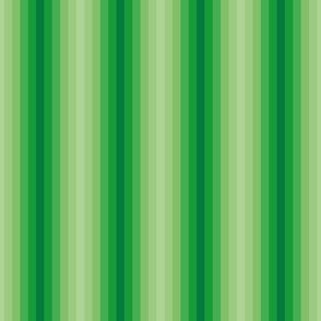 Modern Stripes, green, Relax Night and Day
