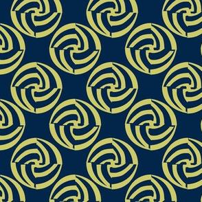 small swirleys - blue hen bounce