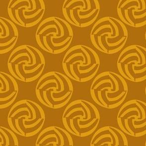 small swirleys - hot mustard